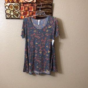LuLaRoe dress with cute designs NWT